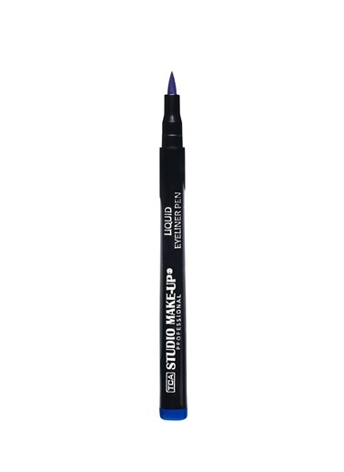 Tca Studio Make Up Lıquıd Eyelıner Pen 03 Blue Mavi
